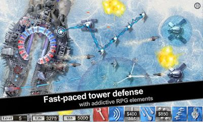 Screenshots von Crashsite Defense für Android-Tablet, Smartphone.