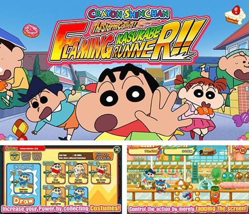 In addition to the game Doraemon Fishing 2 for Android phones and tablets, you can also download Crayon Shin-chan: Storm called! Flaming Kasukabe runner!! for free.