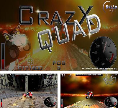 In addition to the game Beach Ball. Crab Mayhem for Android phones and tablets, you can also download CrazXQuad for free.
