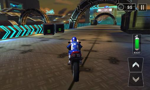 Screenshots von Crazy bike stunts 3D für Android-Tablet, Smartphone.
