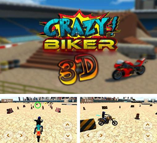 In addition to the game Lab of the Dead for Android phones and tablets, you can also download Crazy biker 3D for free.