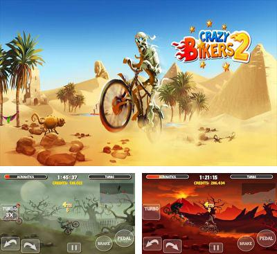 In addition to the game Running Rico Alien vs Zombies for Android phones and tablets, you can also download Crazy Bikers 2 for free.