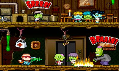 Screenshots of the Crazy Bill Zombie Stars Hotel for Android tablet, phone.