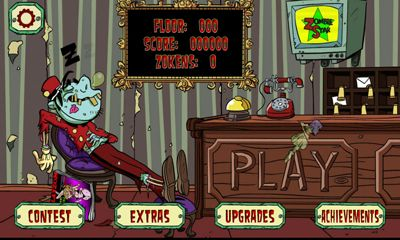 Download Crazy Bill Zombie Stars Hotel Android free game.