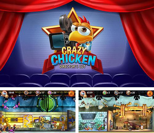 In addition to the game Adventure time: Champions and challengers for Android phones and tablets, you can also download Crazy chicken: Director's cut for free.