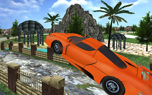 Juega a Crazy dirt offroad car race para Android. Descarga gratuita del juego Carrera loca automovilística por caminos accidentados .