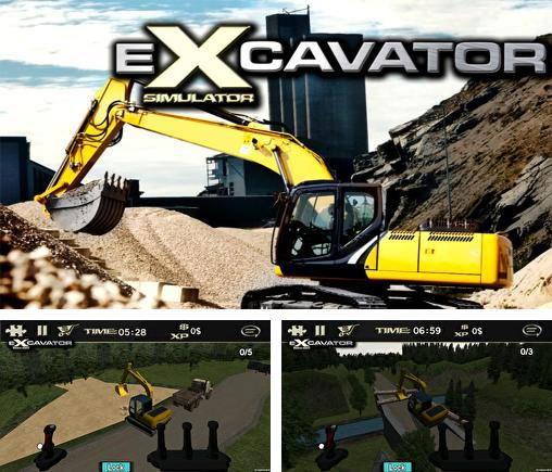 In addition to the game Traktor Digger for Android phones and tablets, you can also download Crazy excavator simulator for free.