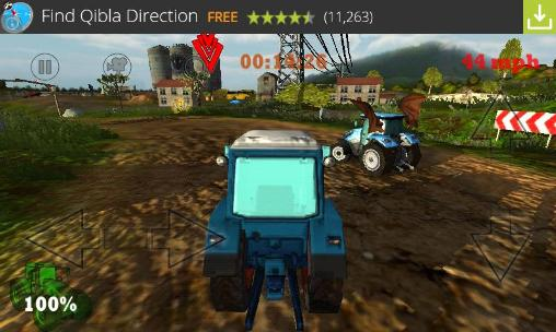 Crazy farm: Racing heroes 3D скриншот 2