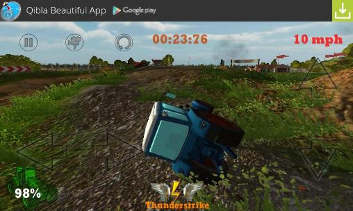 Гра Crazy farm: Racing heroes 3D на Android - повна версія.