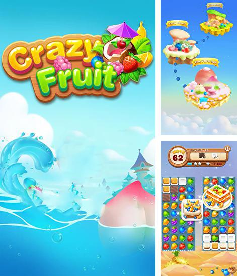 In addition to the game Farm heroes: Super saga for Android phones and tablets, you can also download Crazy fruit for free.