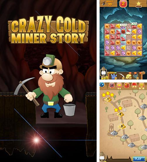 Crazy gold miner story. Ultimate gold rush: Match 3