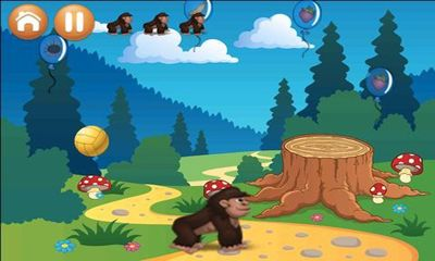 Screenshots of the Crazy Gorilla for Android tablet, phone.