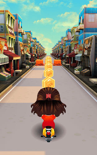 Crazy mom racing adventure. Emak-Emak matic: The queen of the street screenshot 3