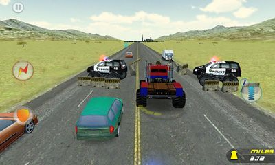 Crazy Monster Truck - Escape скриншот 2