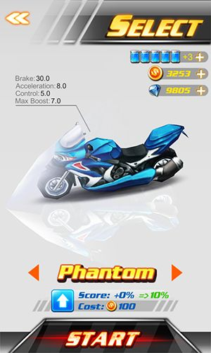 Crazy moto racing 3D screenshot 1