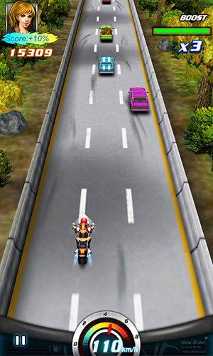 Crazy moto racing 3D screenshot 3