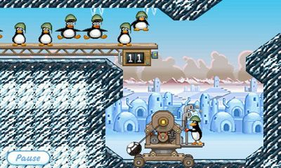 Jogue Crazy Penguin Catapult para Android. Jogo Crazy Penguin Catapult para download gratuito.
