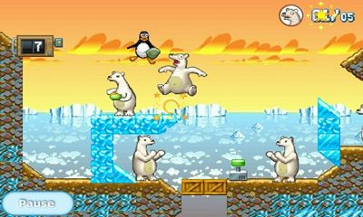 Screenshots do Crazy Penguin Catapult - Perigoso para tablet e celular Android.