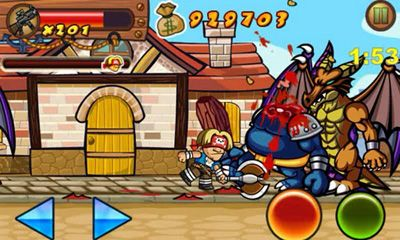 Screenshots of the Crazy Pirate for Android tablet, phone.