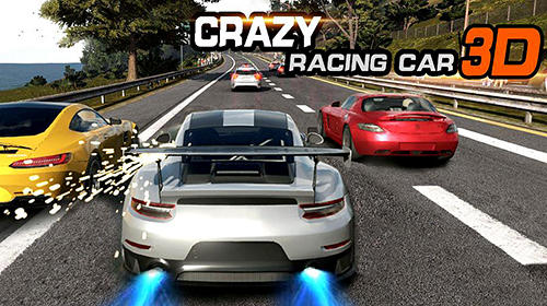 Crazy racing car 3D обложка