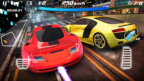 Crazy racing car 3D скриншот 2