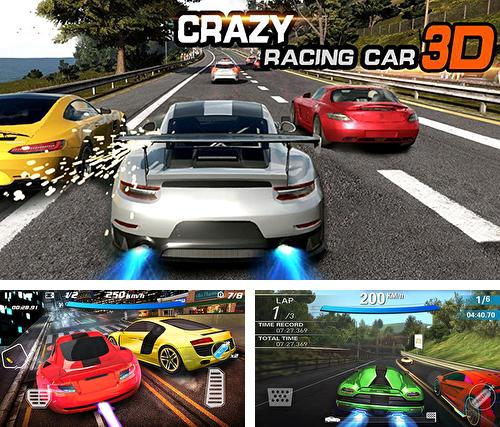 Crazy racing car 3D