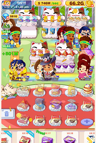 Crazy snack 2: Click and merge screenshot 2