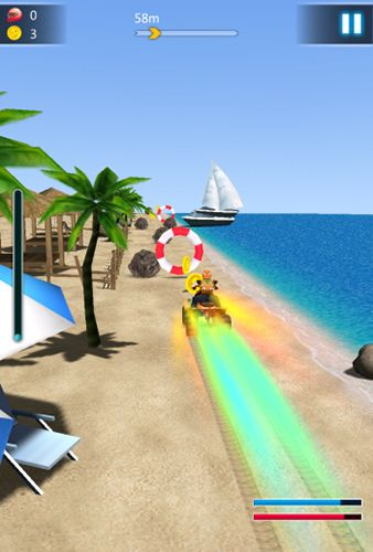 玩安卓版Crazy speed: Beach moto racing。免费下载游戏。