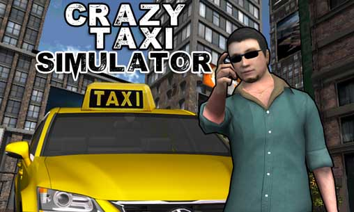 Crazy taxi simulator обложка