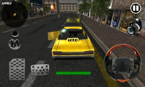 Crazy taxi simulator скриншот 2