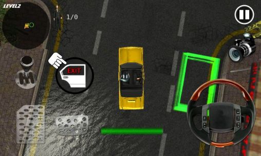 Screenshots von Crazy taxi simulator für Android-Tablet, Smartphone.