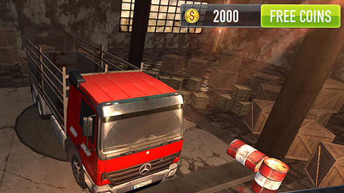 Screenshots von Crazy trucker für Android-Tablet, Smartphone.