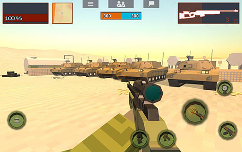 Crazy war screenshot 2