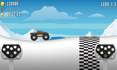 Crazy Wheels Monster Trucks screenshot 1