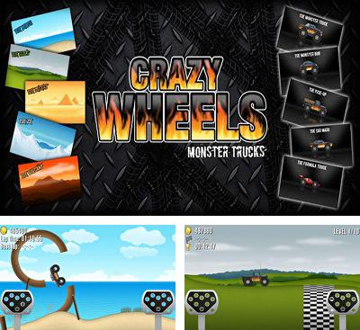 In addition to the game Marv The Miner 3: The Way Back for Android phones and tablets, you can also download Crazy Wheels Monster Trucks for free.
