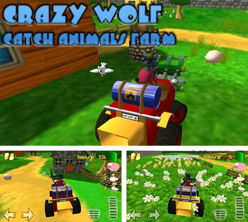 In addition to the game Toy's Parking 3D for Android phones and tablets, you can also download Crazy wolf: Catch animals farm for free.