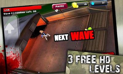 Crazy Zombie Wave screenshot 1