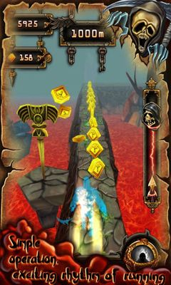 Screenshots of the CrazyFist II for Android tablet, phone.