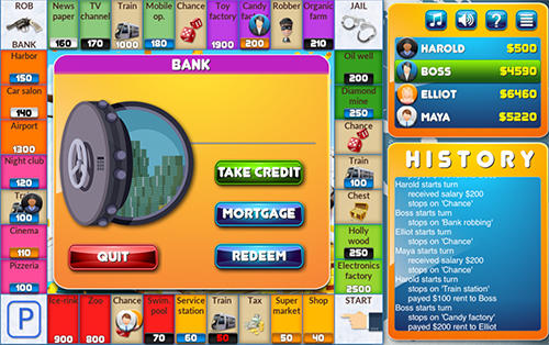 Crazypoly: Business dice game screenshot 1