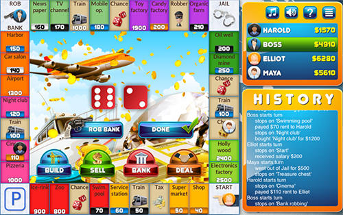 Crazypoly: Business dice game screenshot 3