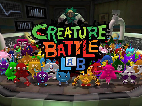 Creature battle lab poster