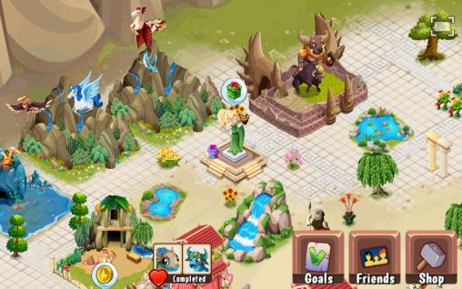 Screenshots von Creatures of Olympus für Android-Tablet, Smartphone.