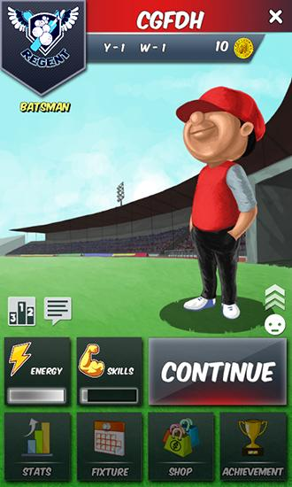 Cricket career: Biginnings 3D für Android spielen. Spiel Cricket Karriere: Biginnings kostenloser Download.