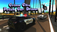 Crime city police car driver APK