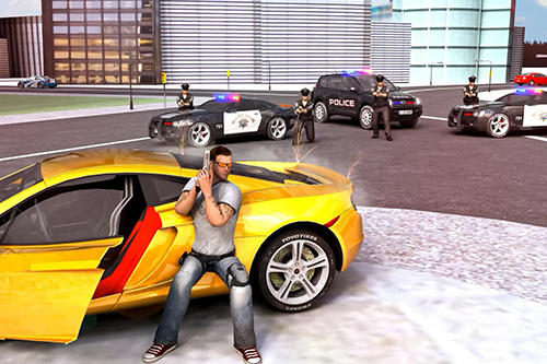 Screenshots von Crime of clash gangsters 3D für Android-Tablet, Smartphone.
