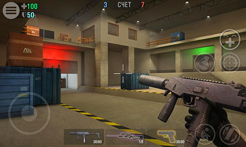 Screenshots von Crime revolt: Online shooter für Android-Tablet, Smartphone.