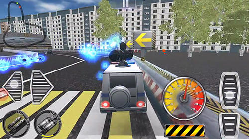 Download Crime vs police: Shooting car racing 3D Android free game.
