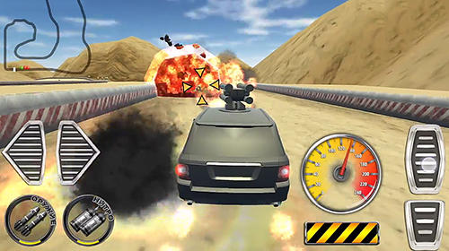 安卓平板、手机Crime vs police: Shooting car racing 3D截图。