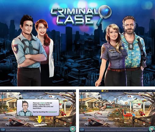 In addition to the game CSI Miami for Android phones and tablets, you can also download Criminal case for free.