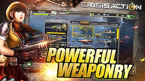 Screenshots do Crisis action - Perigoso para tablet e celular Android.
